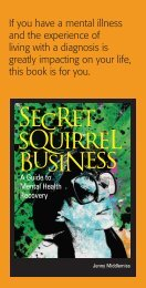 SecRet sQuirreL BusiNess - Ruah Community Services