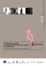 Quaderno restore 7_bilancio sociale.pdf - Trentinosociale.it