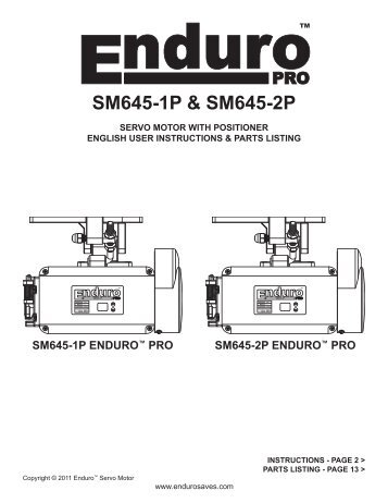 SM645-1P & SM645-2P - Superior Sewing Machine and Supply Corp.