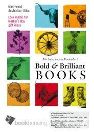 2013 Autumn Reading Guide - Book Bonding