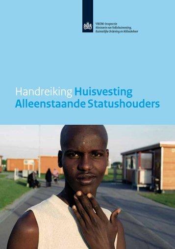 Handreiking Huisvesting Alleenstaande ... - Rijksoverheid.nl