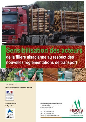 Sensibilisation des acteurs de la filière alsacienne ... - FIBOIS Alsace