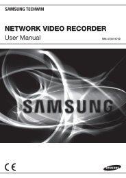 NETWORK VIDEO RECORDER - TristateTelecom