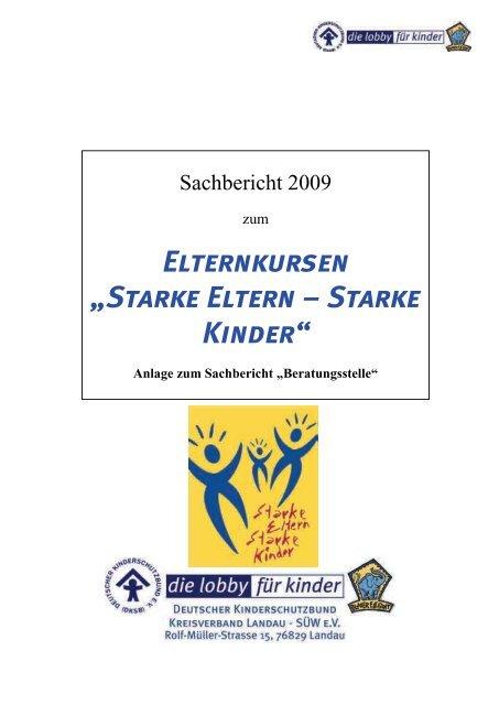 Sachbericht zum Netzwerk Familienbildung - Deutscher ...