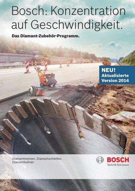 Bosch: Konzentration auf Schnelligkeit.