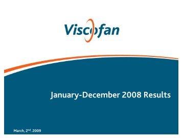 Results Presentation Q4 - Viscofan