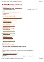 Linfoma de Hodgkin en adultos: Tratamiento (PDQ®) - National ...