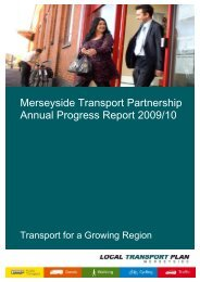 Annual Progress Report 2009/10 - the TravelWise Merseyside website