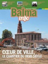 LE CHANTIER DU DEMI-SIÈCLE - Mairie de Balma