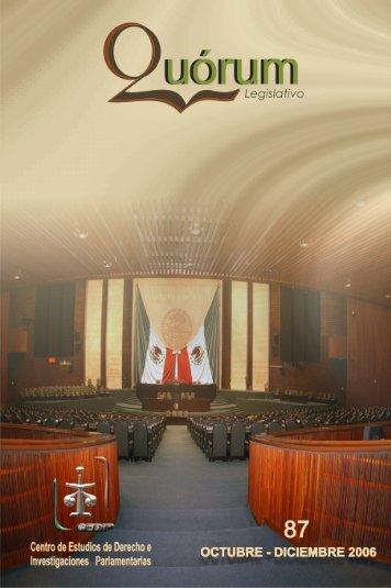 QUÓRUM Legislativo 87 - Cámara de Diputados