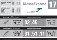 MesseExpress | Linie 17 - Fahrplan 2013 - E-Mobility-World