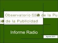 ver documento adjunto. - aea - Asociación Española de Anunciantes
