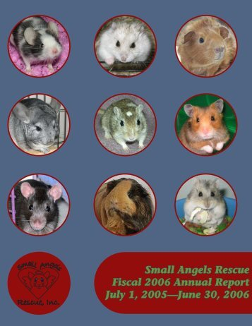 Small Angels Rescue Fiscal 2006 Annual Report July 1, 2005 ...