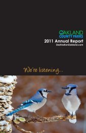 Annual Report 2011.pdf - Destination Oakland