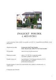 700998-posudek, 125 ex 47-11.pdf - Exekutorský úřad Český Krumlov