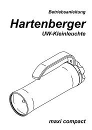 Betriebsanleitung maxi compact - Hartenberger