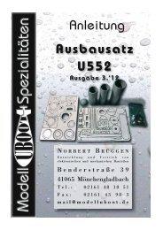 mail@modelluboot.de - Modell-Uboot-Spezialitäten