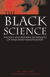 The Black Science: Ancient and Modern Techniques ... - Paladin Press