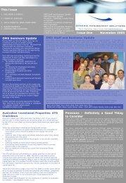 November 2005 - Dynamic Management Solutions