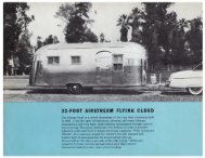 22·FOOT AIRSTREAM FLYING CLOUD