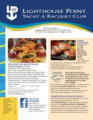 Download - Lighthouse Point Yacht and Racquet Club