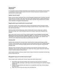 Muat turun buku panduan insurans hayat - InsuranceInfo