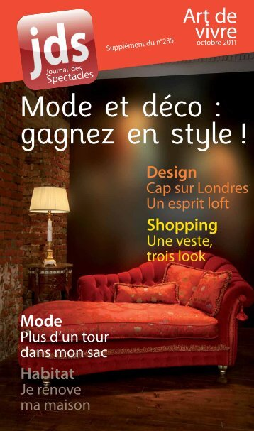 Mode et déco : gagnez en style ! - JDS.fr