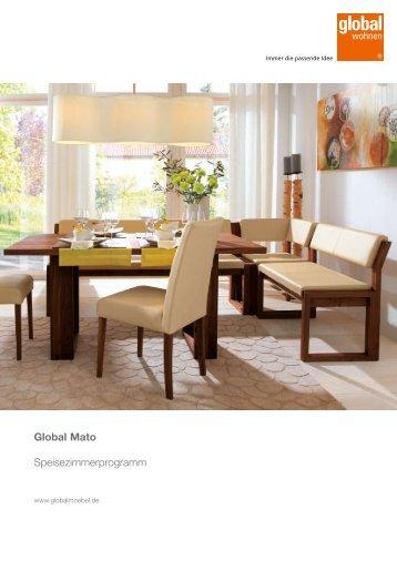 Global Mato Speisezimmerprogramm - Europa Möbel