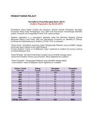 PENDAFTARAN PELAUT - Jabatan Laut Malaysia