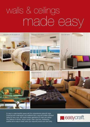 Walls and Ceilings Brochure - Trade Essentials