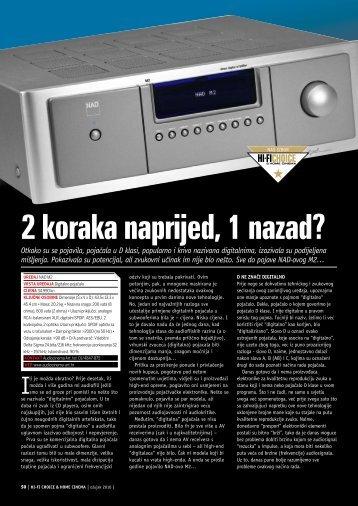 2 koraka naprijed, 1 nazad? - Audio Cinema Art