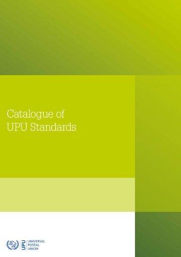 Catalogue of UPU Standards - Universal Postal Union