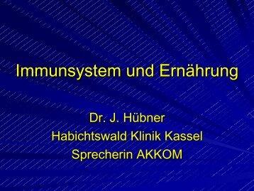 Immunsystem und Ernährung - Habichtswald-Klinik