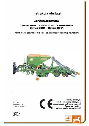 Betriebsanleitung, PL - Agromix