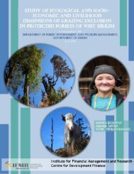 Sikkim Grazing Impact Assessment Report - Centre for Development ...