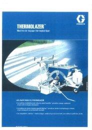 graco thermolazer - 3S signalisation produits de marquage routier