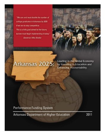 ADHE Performance Funding System Report - Arkansas Department ...