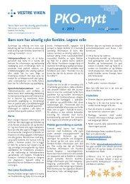 PKO-nytt 4-2012.pdf - Vestre Viken HF