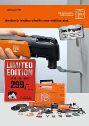 Limited edition Limited edition 01.09. - 30.11 ... - C. & E. FEIN Gmbh