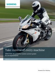 Take control of every machine - Industry