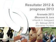 Resultater 2012 & prognose 2013 - LandboThy