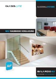 BALARDO ALU Glasswall - Glassline GmbH