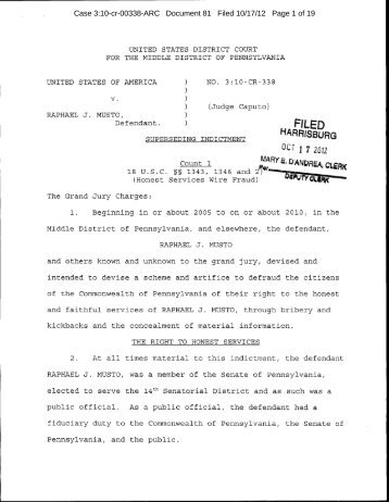 Case 3:10-cr-00338-ARC Document 81 Filed 10/17/12 Page 1 of 19