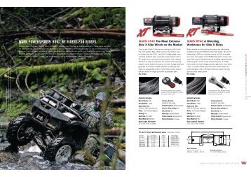 WARN POWERSPORTS: BUILT BY RIDERS FOR ... - Offroad obchod