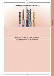 KÜHLKANALSPIRALBOHRER HSS/HSCo - Mohr GmbH
