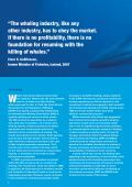 The Economics of Whaling Today - WWF - Page 2