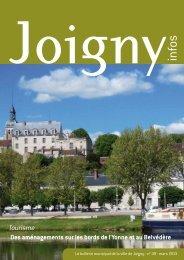 2 Joigny infos n° 49 - mars 2013
