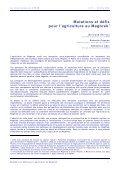 Mutations et défis pour l'agriculture au Maghreb - Page 2