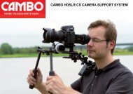 CAMBO HDSLR CS CAMERA SUPPORT SYSTEM