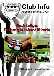 Club Info Ausgabe Sommer 2009 (PDF-Datei, ca 22,7 MB)